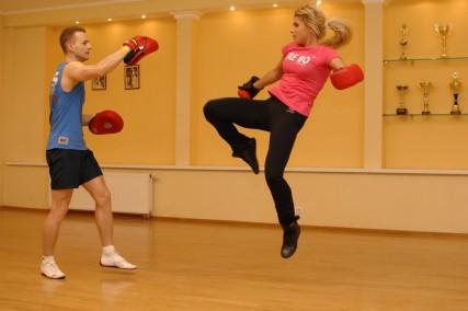 Упражнения в тай бо