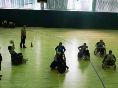 Развитие спорта инвалидов