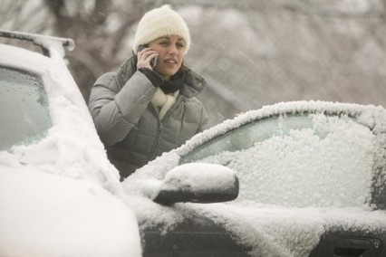заводим авто в мороз