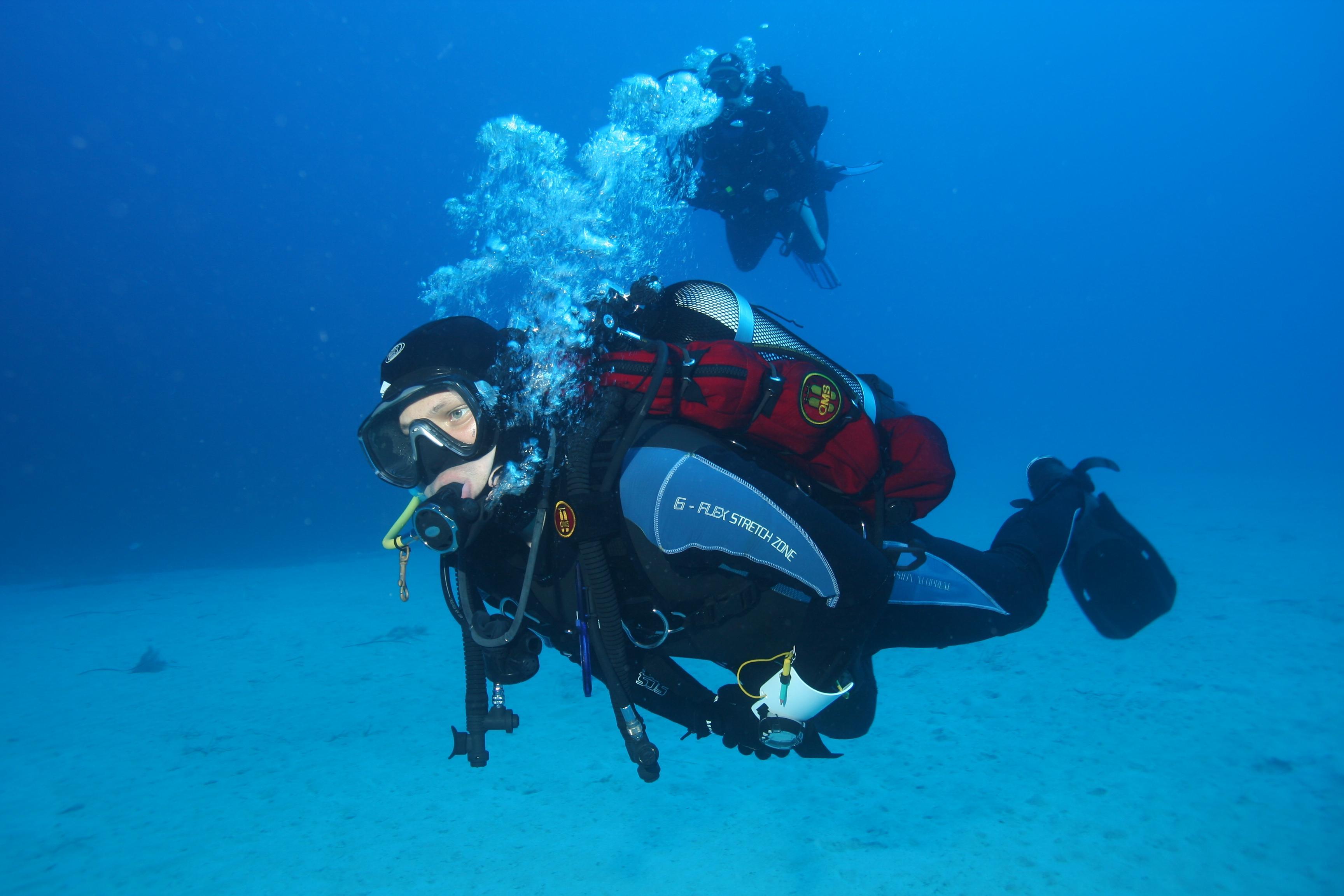 Процес обучения подводному дайвингу