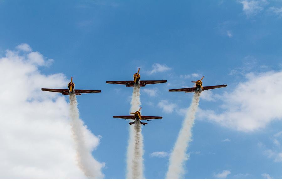 Развитие авиационного спорта в мире