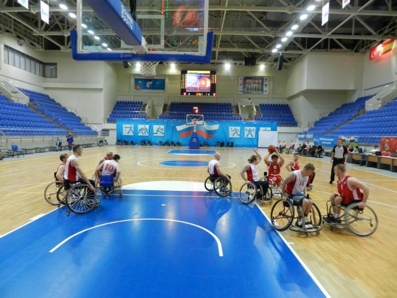 Баскетбол на колясках