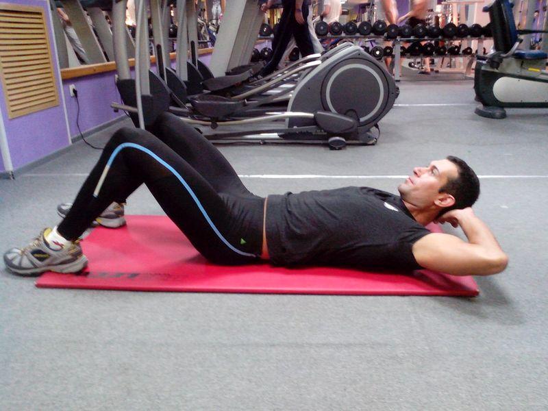 Фитнес упражнения: убираем живот
