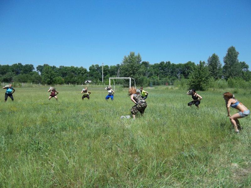 Фитнес тренировки в летнюю жару