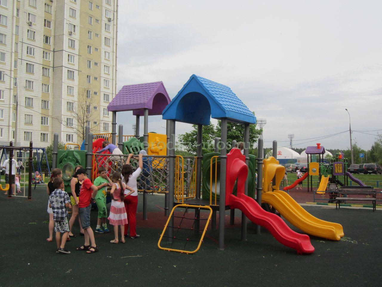 Как выбрать детскую площадку?